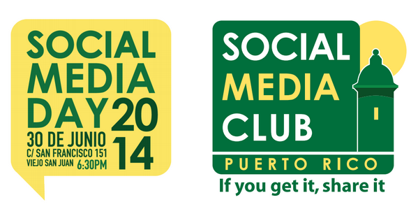 Logo Social Media Day y SMCPR